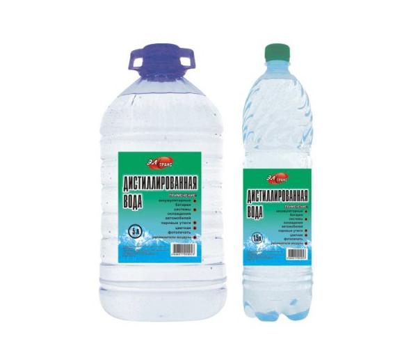 Вода дистиллированная Элтранс Органик-Прогресс