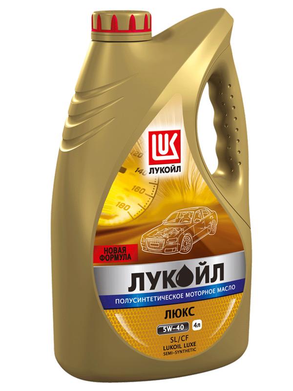 ЛУКОЙЛ ЛЮКС API SL/CF 5W-30, 5W-40, 10W-40