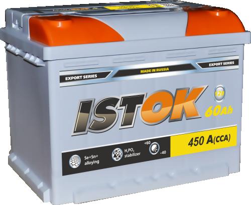 Аккумулятор ISTOK 6СТ-60