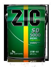 ZIC SD 5000 15W40