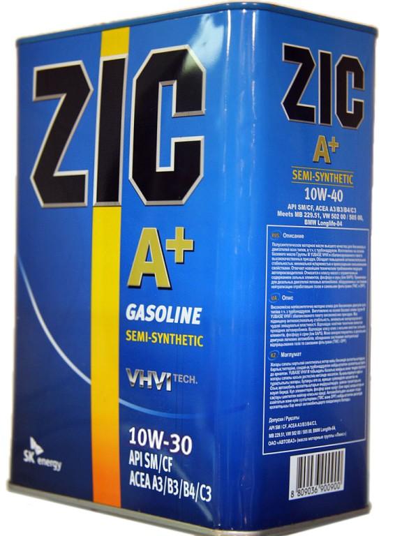 ZIC A Plus 5W30