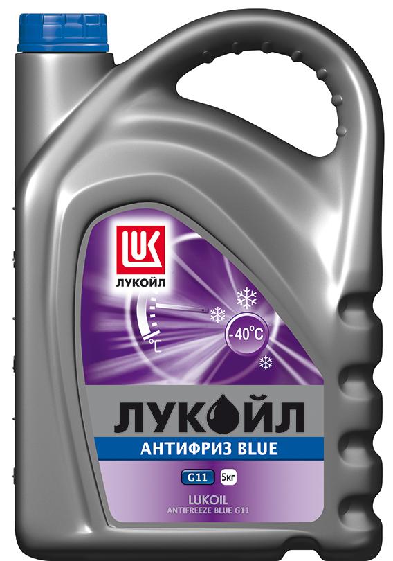 ЛУКОЙЛ АНТИФРИЗ G11 Blue